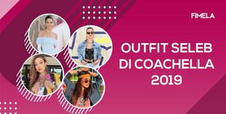 Outfit Seleb di Coachella 2019, Mulai dari Kylie Jenner Hingga Luna Maya!