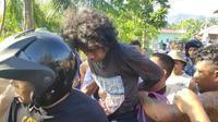 Karimu, Kolor Ijo Gorontalo yang kerap meresahkan warga saat diringkus (Arfandi Ibrahim/Liputan6.com)