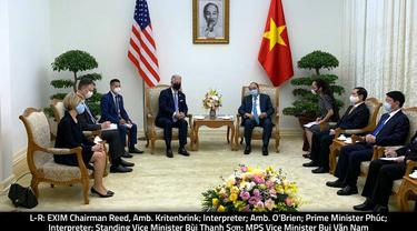 Kunjungan Robert C. O'Brien, penasehat keamanan nasional AS ke Vietnam.