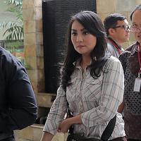 Sidang Hak Asuh Anak Sandy Tumiwa dan Tessa Kaunang (Deki Prayoga/bintang.com)
