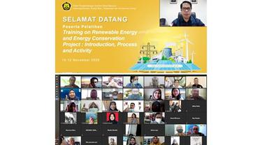 Tingkatkan Kapasitas SDM, Kementerian ESDM dan UNDP Gelar Training EBT Secara Virtual