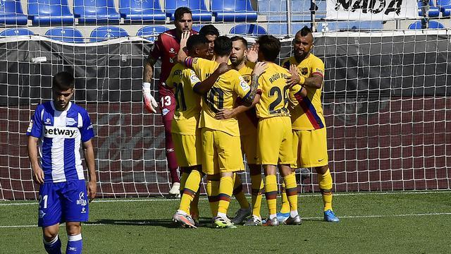 Barcelona, Lionel Messi, La Liga, Alaves