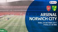 Piala Liga Inggris_Arsenal vs Norwich City (Bola.com/Adreanus Titus)