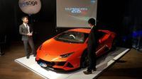 Peluncuran Lamborghini Huracan EVO AWD di Jakarta Utara