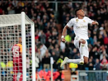 Penampilan Memukau Rodrygo Saat Real Madrid Bantai Galatasaray