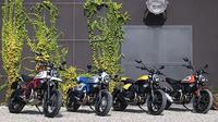 Line up Ducati Scrambler. (Rideapart)