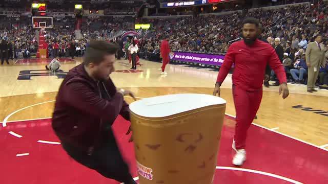 Berita video game recap NBA 2017-2018 antara Washington Wizards melawan Toronto Raptors dengan skor 122-119.