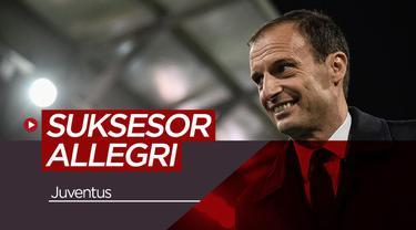 Berita video tentang para calon pengganti Massimiliano Allegri yang dipecat oleh Juventus.