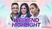 HL Weekend Highlight Rizal Djibran, Anisa Bahar, Millendaru