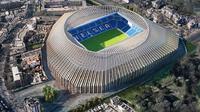Chelsea mendapat lampu hijau untuk merenovasi Stamford Bridge. (Daily Mail)