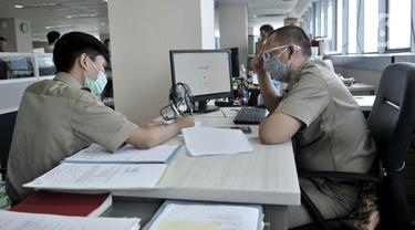 Hari Pertama Kerja di Kantor saat PSBB Transisi