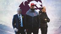 Premier League - Felix Magath, Jurgen Klopp, Thomas Tuchel (Bola.com/Adreanus Titus)