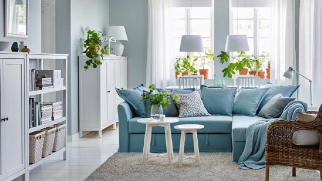 Tips Mix And Match Sofa Dengan Warna Dinding Untuk Ruang Keluarga