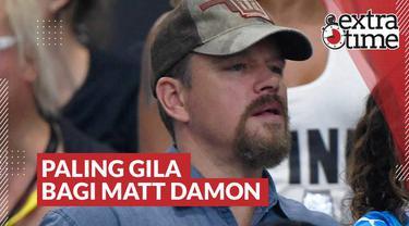 Berita video Extra Time kali ini membahas pengalaman salah satu aktor ternama Hollywood, Matt Damon, saat menonton laga Boca Juniors di Argentina.