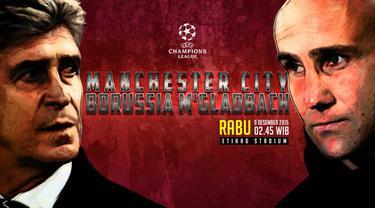 Manchester City vs Borussia M'gladbach