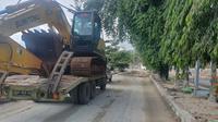 PTPP kerahkan alat berat bantu penanganan banjir bandang luwu utara.