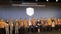 Malam penganunegarahan Hassan Wirajuda Perlindungan Awards 2019 (Rizki Akbar Hasan / Liputan6.com)