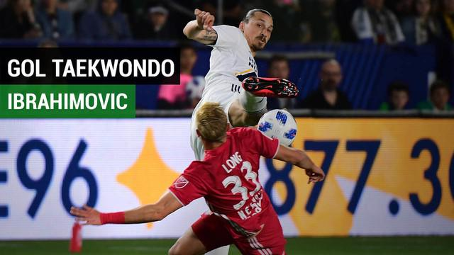 Berita Video Gol Tendangan Taekwondo Ala Zlatan Ibrahimovic