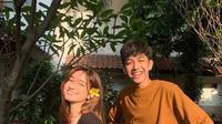 Potret Kedekatan Abun Sungkar dan Dannia Salsabilla. (Sumber: Instagram: amandaa.an)