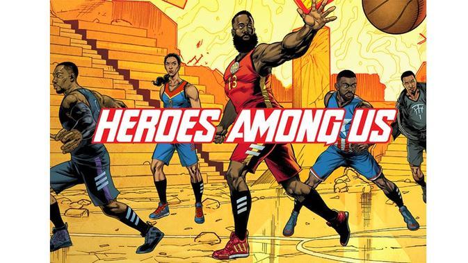 Terinpirasi Hero Marvel, Adidas Segera Rilis 5 Sepatu Basket Baru