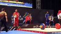 Eko Yuli Irawan gagal mempersembahkan emas pada SEA Games 2017 (Video.com)