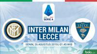 Serie A - Inter Milan Vs Lecce (Bola.com/Adreanus Titus)
