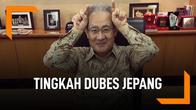 Tingkah Duta Besar Jepang untuk Indonesia Jadi Sorotan