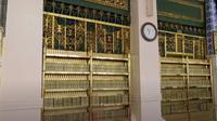 Deretan potret makam para Nabi yang hingga kini masih menjadi pusat perhatian. (Sumber: YouTube/ Sekretariat Presiden)