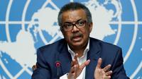 Kepala WHO Dr. Tedros Adhanom Ghebreyesus (AFP)