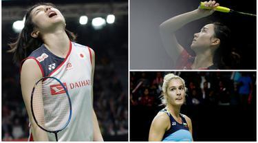 Mulai dari Ayane Kurihara hingga Gabriela Stoeva menjadi sejumlah pebulutangkis cantik yang tampil di Indonesia Masters 2019. Berikut ini deretan bidadari yang bertarung di Istora Senayan. (Bola.com/M. Iqbal Ichsan)