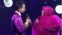 Grand Finalis Faul asal Aceh berduet dengan Lesti DA di Konser Kemenangan LIDA 2019 Jumat (3/5/2019) malam di Indosiar.