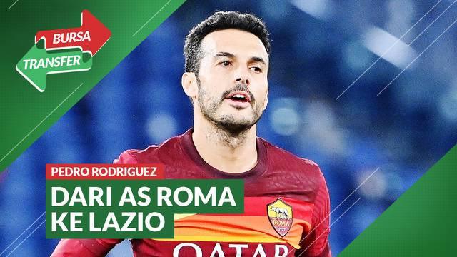Berita video Bursa Transfer kali ini membahas soal menariknya perpindahan Pedro Rodriguez dari AS Roma ke Lazio.