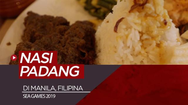 Berita video menikmati masakan nasi Padang di Kota Manila, Filipina, saat ajang SEA Games 2019 berlangsung.