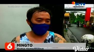Terjadi kebocoran dan terbakar pipa gas milik Perusahaan Gas Negara (PGN) yang tepat berada di samping rumah warga di Probolinggo, Jawa Timur, pada Senin sore (01/2).