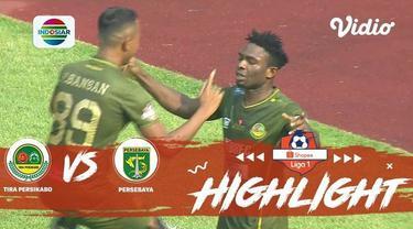 Berita video momen gol cepat Tira Persikabo yang dicetak Osas Saha saat menghadapi Persebaya Surabaya pada pekan ke-27 Shopee Liga 1 2019, Sabtu (9/11/2019).