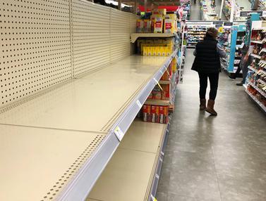 Lonjakan COVID-19 mendorong Panic Buying