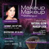 MakeupMakeup by Bintang.com akan kembali diselenggarakan 14 Juli mendatang, jangan sampai ketinggalan!