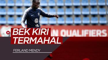 Berita video bek baru Real Madrid, Ferland Mendy, masuk dalam daftar 10 bek kiri termahal di dunia. Ada nama siapa lagi?