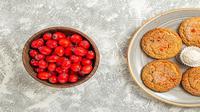 Ilustrasi cranberry cookies (Sumber: Freepik/KamranAydinov)