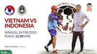 Piala AFF U-22 2019: Vietnam Vs Indonesia Head to Head Pelatih (Bola.com/Adreanus Titus)