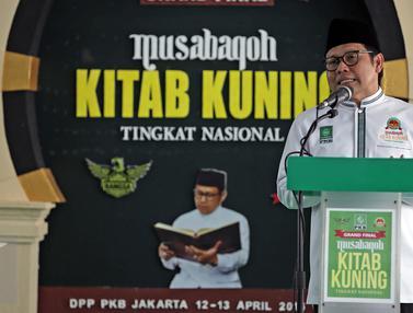 20160412- PKB Gelar Musabaqoh Kitab Kuning Tingkat Nasional- Muhaimin Iskandar-Jakarta- Faizal Fanani