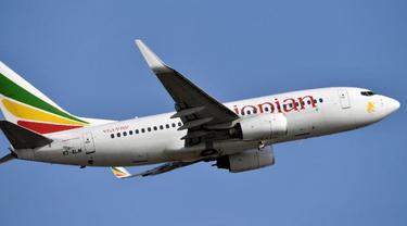 Ethiopian Airlines. Foto:AFP/ISSOUF SANOGO