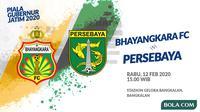 Piala Gubernur Jatim - Bhayangkara FC Vs Persebaya (Bola.com/Adreanus Titus)