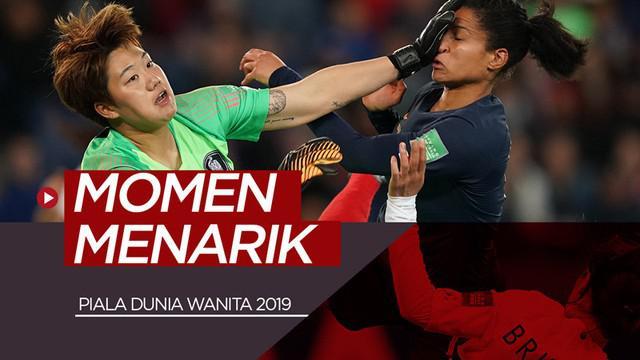 Berita video Piala Dunia wanita 2019 sudah dua hari bergulir dan sudah ada beberapa momen menarik yang terjadi. Ada apa saja yang terjadi?