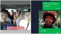 Potret Driver Ojek Online Kelewat Narsis Ini Bikin Cengar Cengir (sumber:Instagram/dramaojol.id)