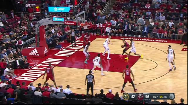 Berita Video Highlights NBA 2019-2020, Houston Rockets Vs Denver Nuggets 121-105