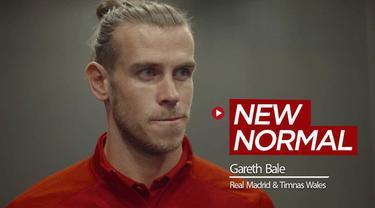 Berita video pandangan bintang Real Madrid dan Timnas Wales, Gareth Bale, terhadap new normal yang terjadi di sepak bola.