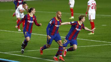 Taklukkan Sevilla, Barcelona Melaju ke Final Copa del Rey
