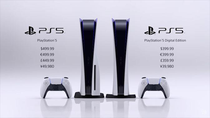 Harga PS5. (Doc: Sony PlayStation)