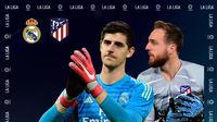 Liga Spanyol: Real Madrid Vs Atletico Madrid. (Bola.com/Dody Iryawan)